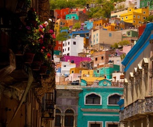 colors, mexico, and colorful image