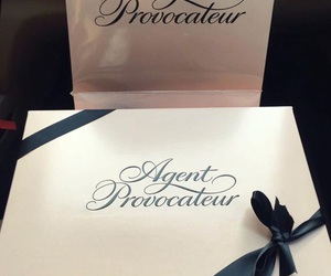 agent provocateur, luxury, and pink image