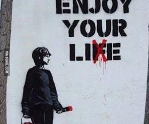 lies, graffiti, and life image