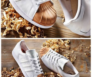 adidas, blanches, and fall image