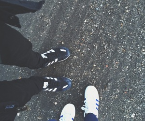 adidas, cold, and couple image