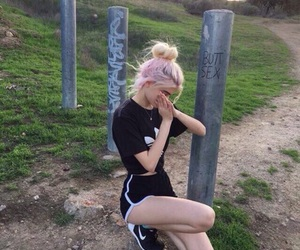 girl, adidas, and tumblr image