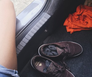 adventure, hipster, and shoe image