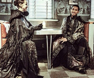 merlin, once upon a time, and nimue image