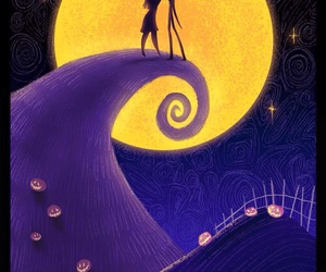 disney, jack, and nightmare before christmas image