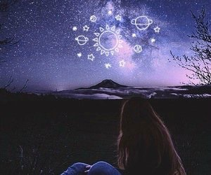 art, beauty, and cosmos image