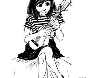 art, black and white, and dorothy image