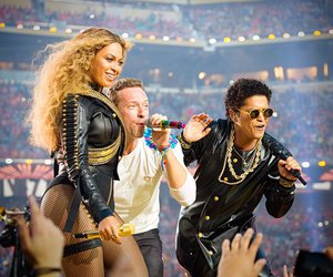 beyoncé, bruno mars, and coldplay image