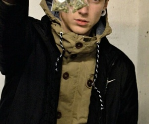 boy, weed, and drugs image