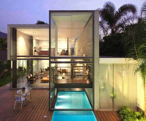 house, architecture, and pool image