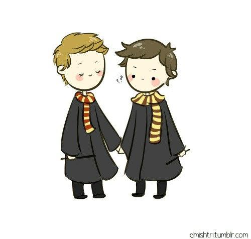 dean, hogwarts, and supernatural image