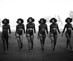 beyoncé, formation, and black and white image