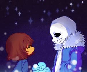 undertale, sans, and stars image