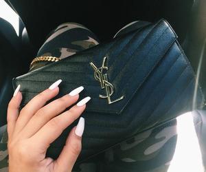 fashion, nails, and YSL image