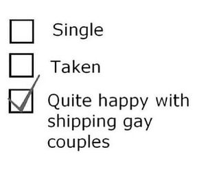 gay, funny, and shipping image
