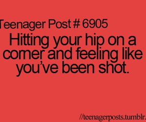 teenager post, funny, and quote image