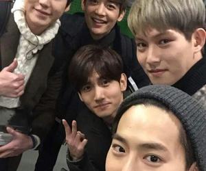 exo, changmin, and kyuhyun image