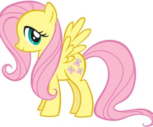 fluttershy, pony, and my little pony image