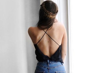 back, brides, and fashion image