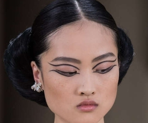chanel, makeup, and jing wen image