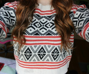 sweater, girl, and tumblr image