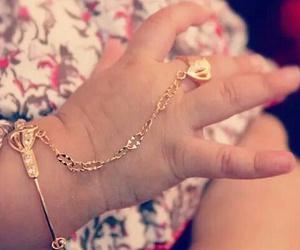 angel, bracelet, and baby girl image