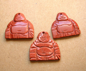 carved, gemstone buddhas, and pendant lots image