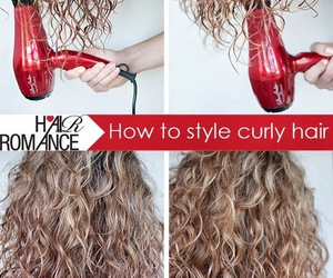 hair, style, and diy image