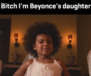 bitch, funny, and queen b image