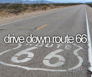route 66, down, and Dream image