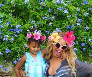 beyoncé, blue ivy, and mrs carter image