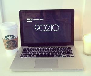 90210, starbucks, and laptop image