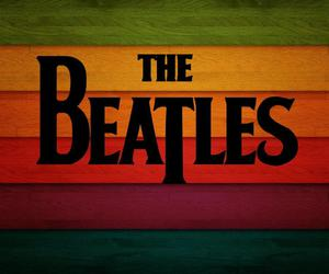 background, colours, and the beatles image