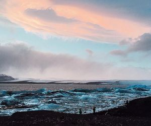 blue, iceland, and nature image