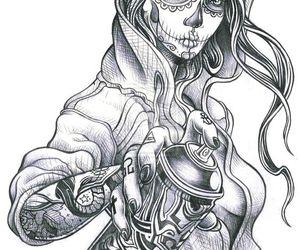 art, graffiti, and drawing image