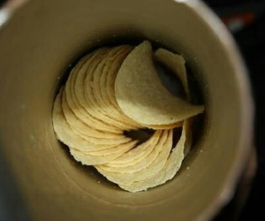 food, pringles, and chips image