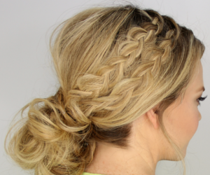 hairstyle, hairstyletutorial, and hairstylevideotutorial image