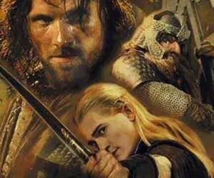 Legolas, aragorn, and the lord of the rings image