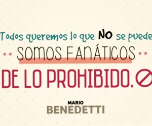 frases, quote, and mario benedetti image