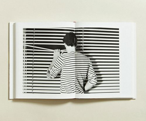black and white and stripes image