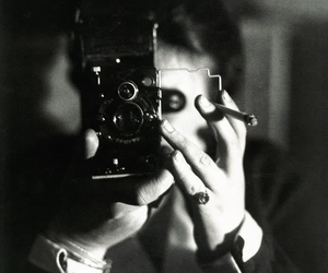 photography, vintage, and black and white image