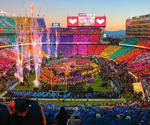 coldplay, beyoncé, and super bowl image
