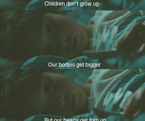 child, quotes, and grow up image
