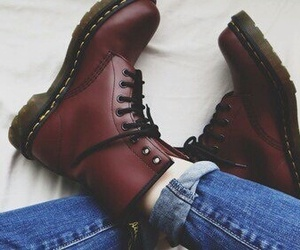 shoes, boots, and jeans image