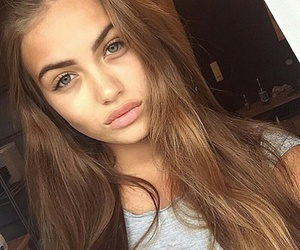 girls, makeup, and pretty image