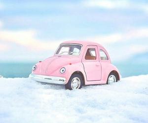 blue, car, and miniature image