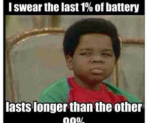 battery, funny, and true image