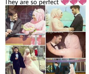 adorable, conversation, and hijab image