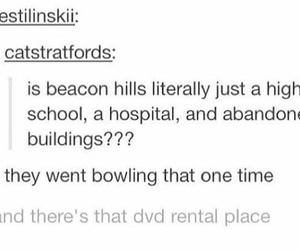 funny, teen wolf, and beacon hills image