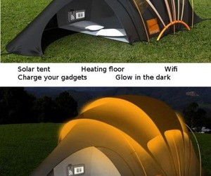 camping, wifi, and funny image